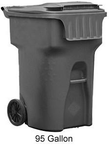 95 Gallon Edge Cart By Otto Environmental Outdoor
